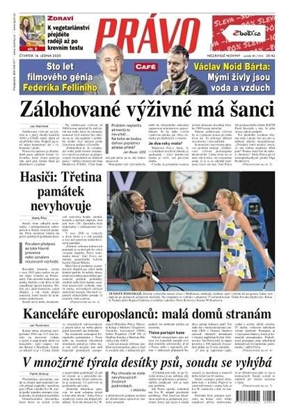 Právo - 16-01-2020 - Elektronické noviny