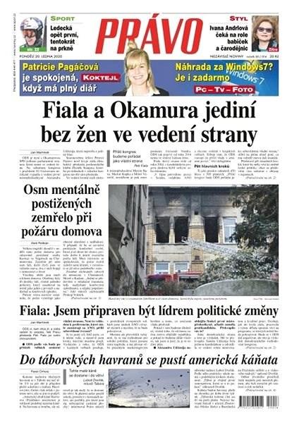 Právo - 20-01-2020 - Elektronické noviny
