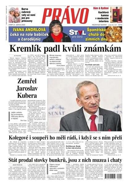 Právo - 21-01-2020 - Elektronické noviny