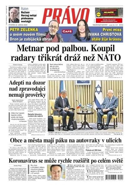 Právo - 23-01-2020 - Elektronické noviny