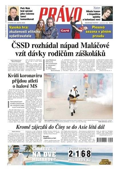 Právo - 30-01-2020 - Elektronické noviny