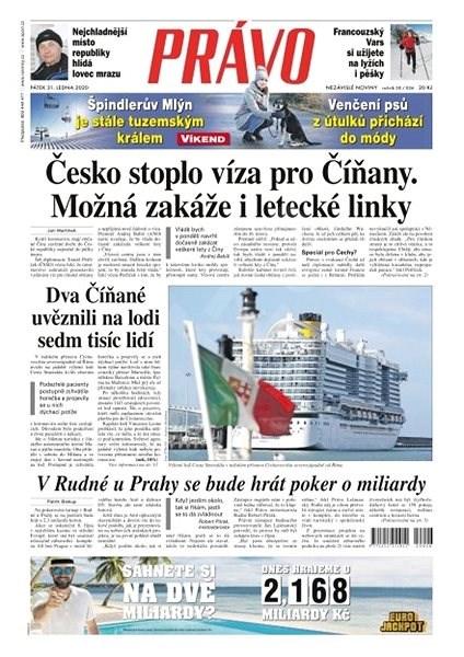 Právo - 31-01-2020 - Elektronické noviny