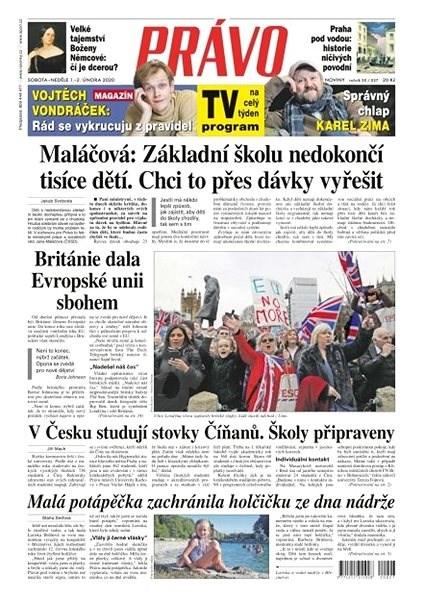 Právo - 01-02-2020 - Elektronické noviny