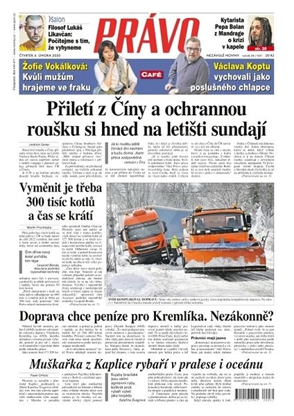 Právo - 06-02-2020 - Elektronické noviny