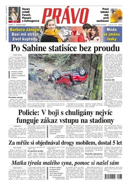 Právo - 11-02-2020 - Elektronické noviny