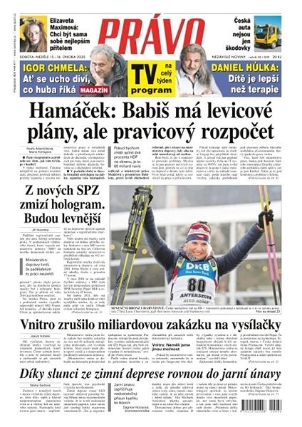 Právo - 15-02-2020 - Elektronické noviny