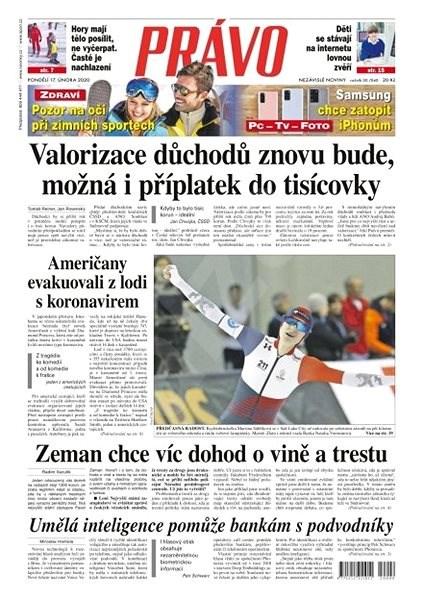 Právo - 17-02-2020 - Elektronické noviny