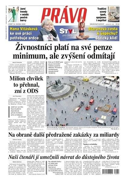 Právo - 18-02-2020 - Elektronické noviny