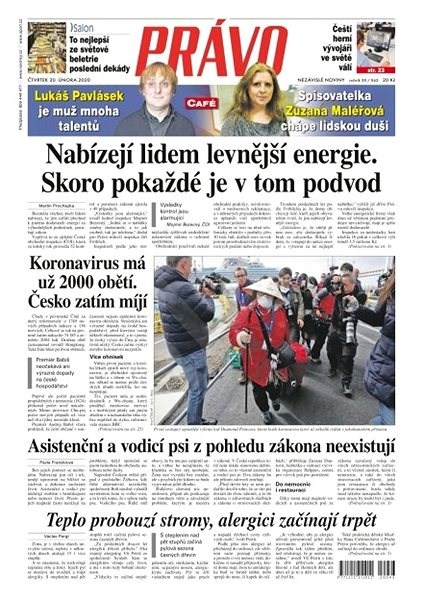 Právo - 20-02-2020 - Elektronické noviny