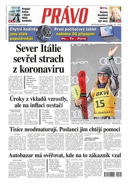Právo - 24-02-2020 - Elektronické noviny