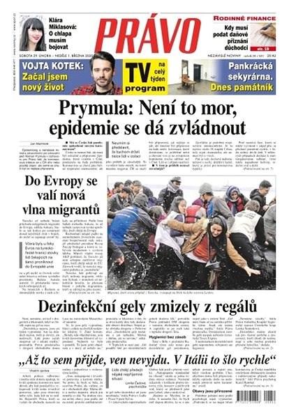Právo - 29-02-2020 - Elektronické noviny