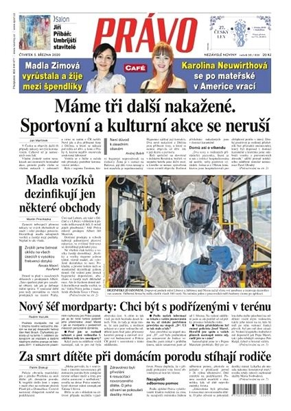 Právo - 05-03-2020 - Elektronické noviny