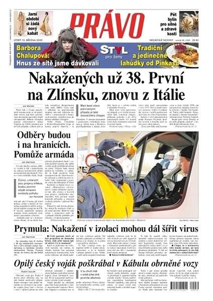 Právo - 10-03-2020 - Elektronické noviny