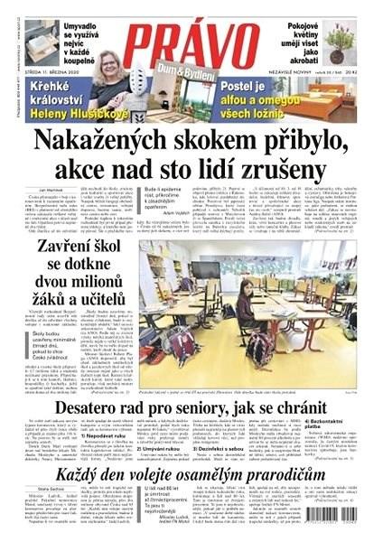 Právo - 11-03-2020 - Elektronické noviny