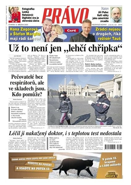 Právo - 12-03-2020 - Elektronické noviny