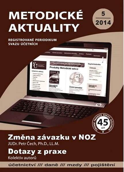 Metodické aktuality - 5/2014 - Elektronický časopis