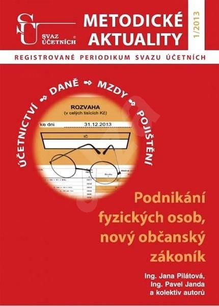 Metodické aktuality - 1/2013 - Elektronický časopis