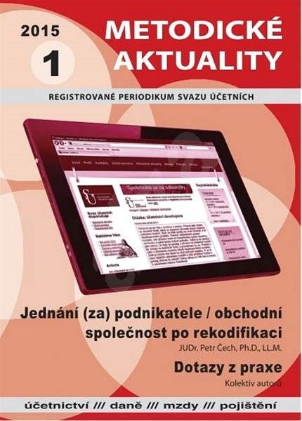 Metodické aktuality - 1/2015 - Elektronický časopis
