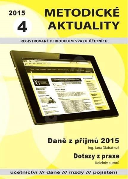 Metodické aktuality - 4/2015 - Elektronický časopis