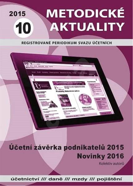 Metodické aktuality - 10/2015 - Elektronický časopis