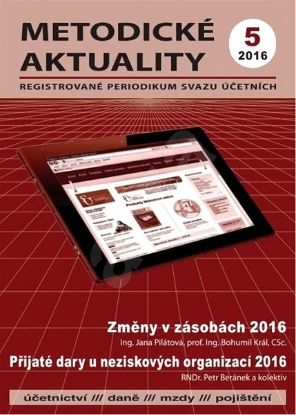 Metodické aktuality - 5/2016 - Elektronický časopis