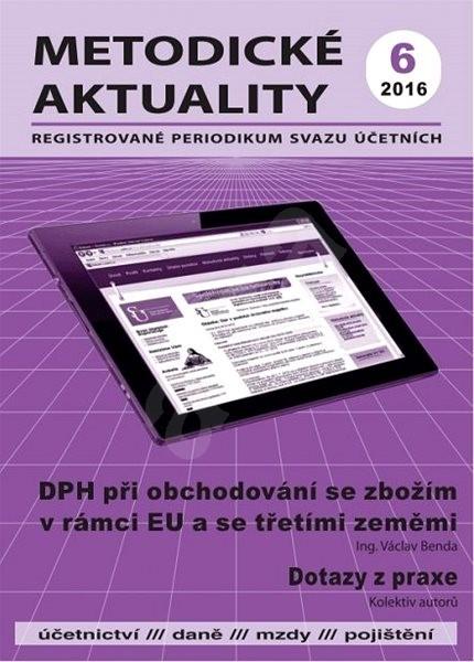 Metodické aktuality - 6/2016 - Elektronický časopis