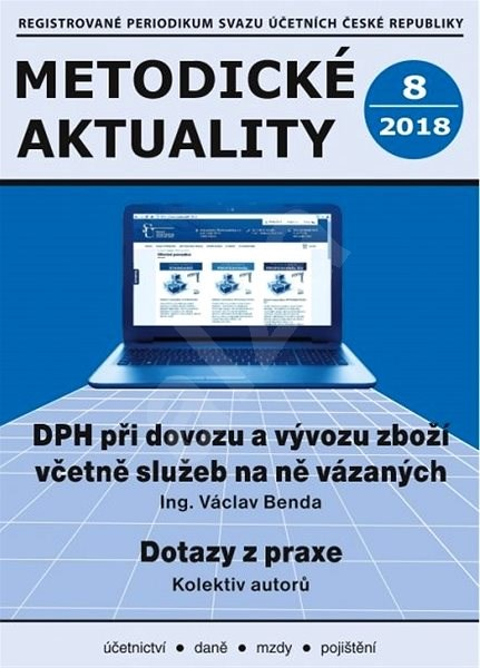 Metodické aktuality - 8/2018 - Elektronický časopis