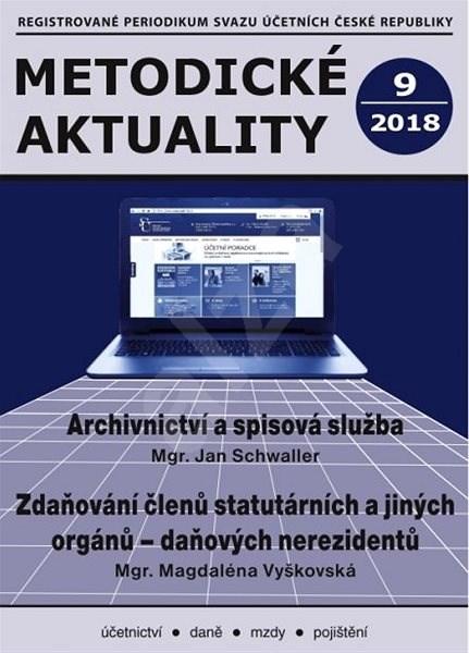 Metodické aktuality - 9/2018 - Elektronický časopis