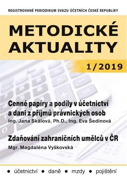 Metodické aktuality - 1/2019 - Elektronický časopis