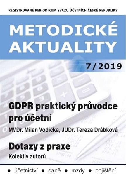 Metodické aktuality - 7/2019 - Elektronický časopis