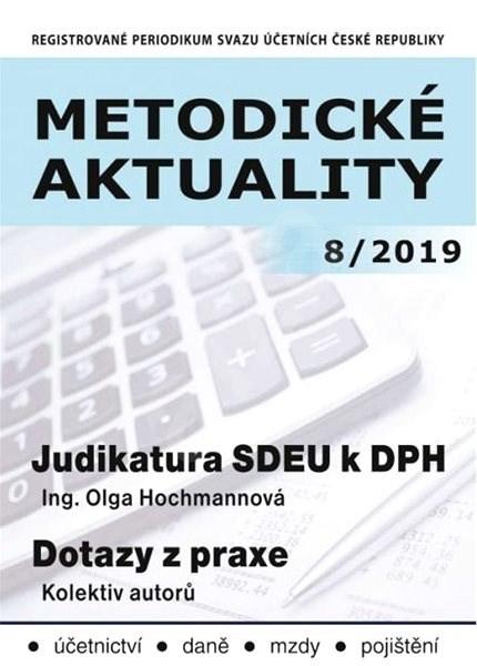 Metodické aktuality - 8/2019 - Elektronický časopis