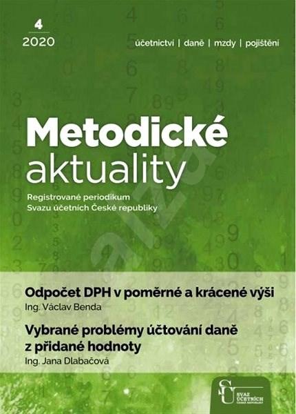 Metodické aktuality - 4/2020 - Elektronický časopis