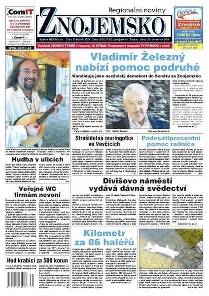 Regionální noviny Znojemsko - 31/2014 - Elektronické noviny