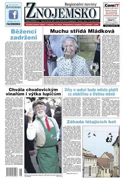 Regionální noviny Znojemsko - 28/2015 - Elektronické noviny