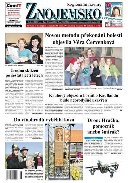 Regionální noviny Znojemsko - 15/2016 - Elektronické noviny