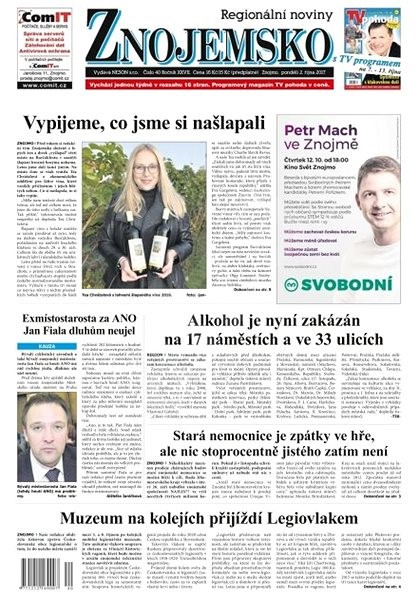 Regionální noviny Znojemsko - 40/2017 - Elektronické noviny