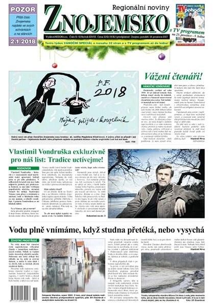Regionální noviny Znojemsko - 51+52/2017 - Elektronické noviny