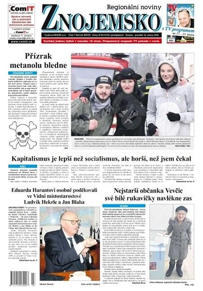 Regionální noviny Znojemsko - 7/2018 - Elektronické noviny