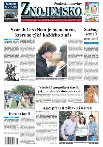 Regionální noviny Znojemsko - 28/2018 - Elektronické noviny