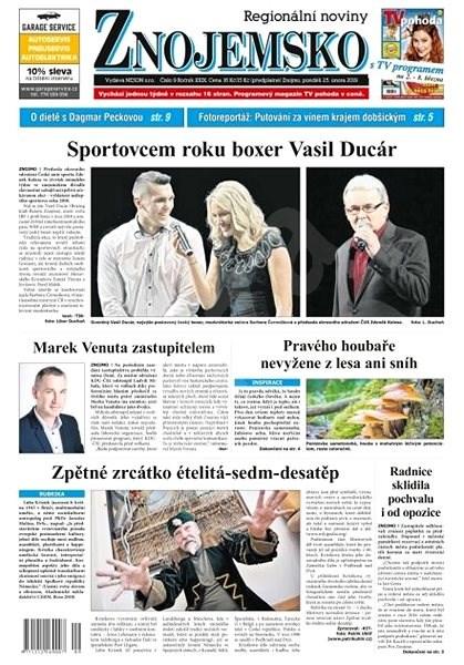 Regionální noviny Znojemsko - 9/2019 - Elektronické noviny