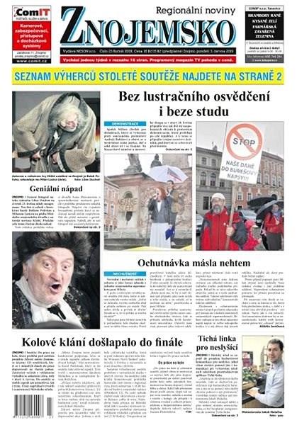 Regionální noviny Znojemsko - 23/2019 - Elektronické noviny