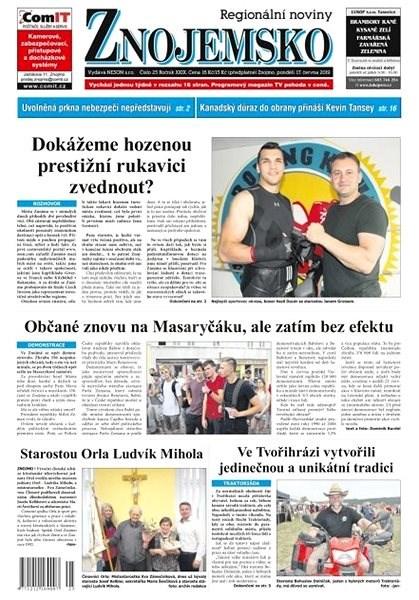 Regionální noviny Znojemsko - 25/2019 - Elektronické noviny
