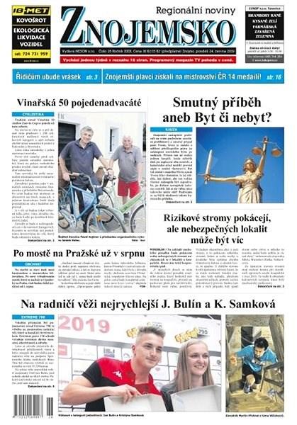 Regionální noviny Znojemsko - 26/2019 - Elektronické noviny