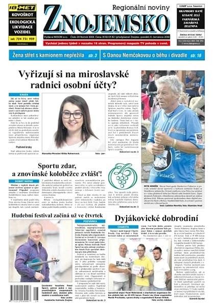 Regionální noviny Znojemsko - 28/2019 - Elektronické noviny
