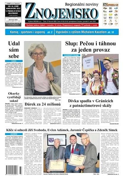 Regionální noviny Znojemsko - 37/2019 - Elektronické noviny