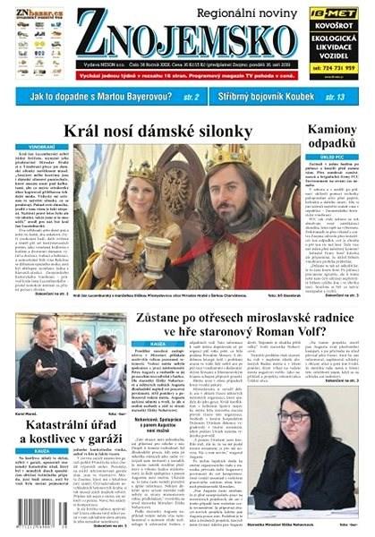Regionální noviny Znojemsko - 38/2019 - Elektronické noviny