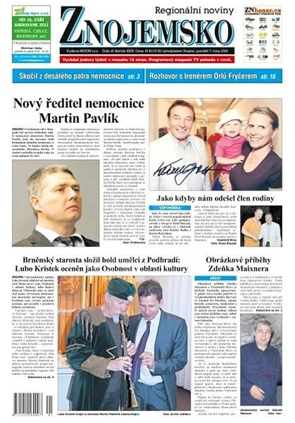 Regionální noviny Znojemsko - 41/2019 - Elektronické noviny