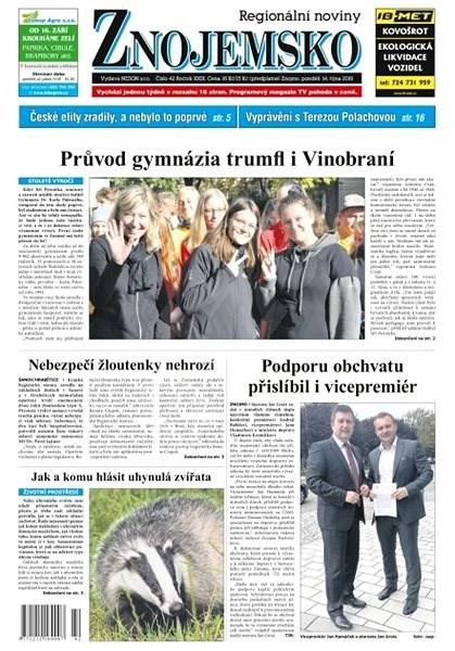 Regionální noviny Znojemsko - 42/2019 - Elektronické noviny