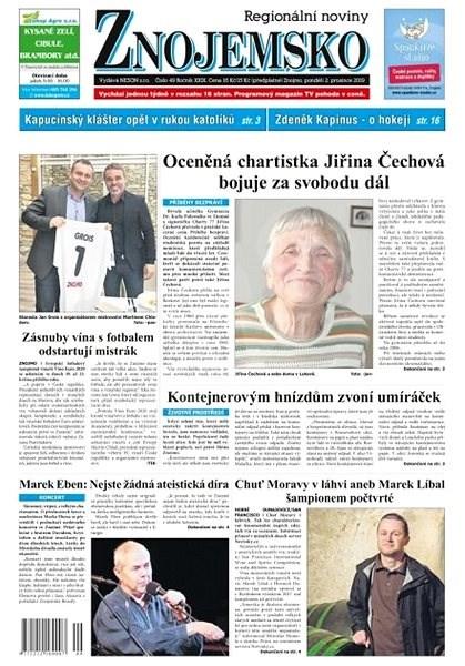 Regionální noviny Znojemsko - 49/2019 - Elektronické noviny