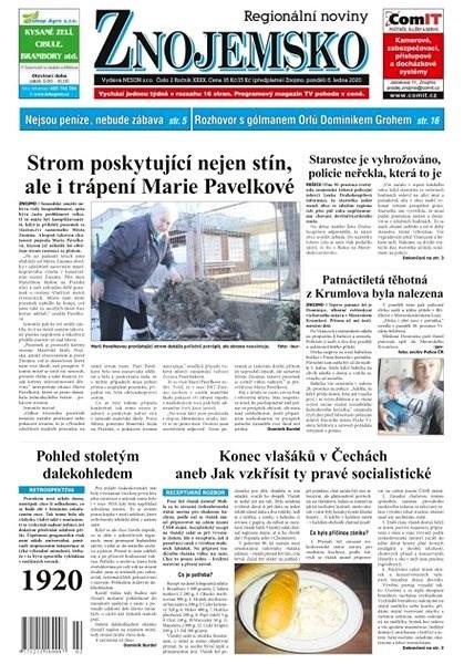 Regionální noviny Znojemsko - 02/2020 - Elektronické noviny